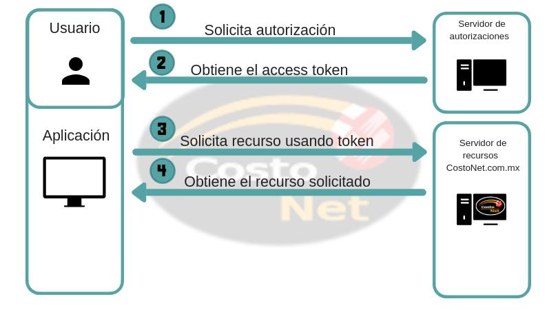 flujo de autorizacion de propios recursos